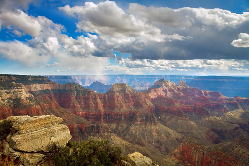birght angel point north rim grand canyon