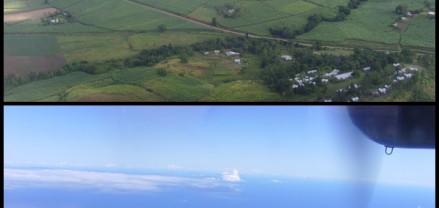 Flight to Vorovoro Fiji