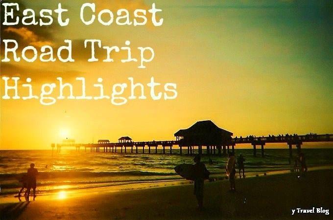 Usa East Coast Road Trip Map Images