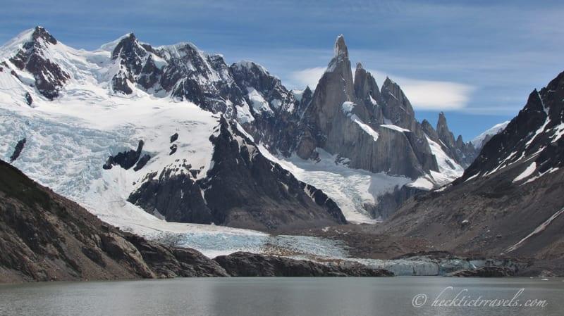 The Wrong Way in El Chalten, Argentina