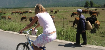 Photo - Biking in Lijiang China