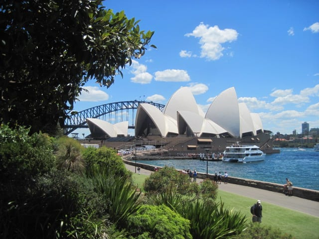 Royal Botanic Gardnes, Sydney Harbour
