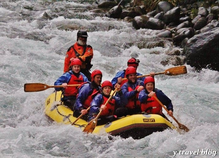 Photo - White Water Rafting New Zealand