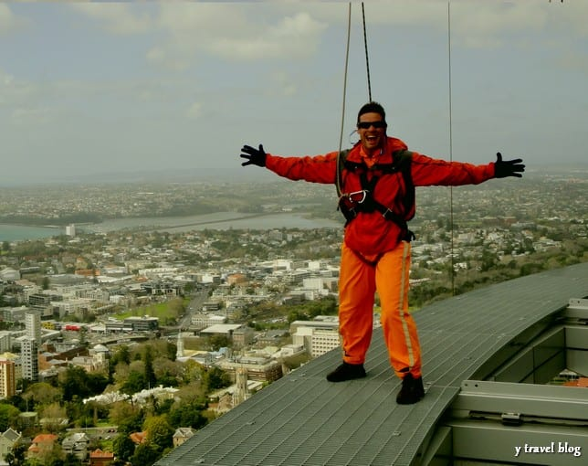 photo - Auckland's skywalk