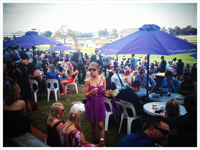 a day at Rosehill races