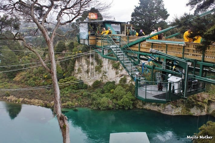 Photo - Bungy jump in taupo new zealand