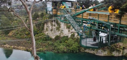 Photo - taupo bungy new zealand