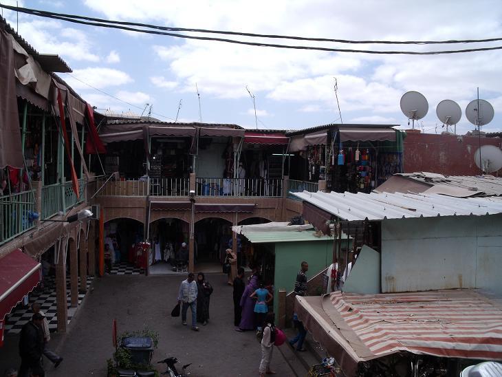 Souks in Morocco