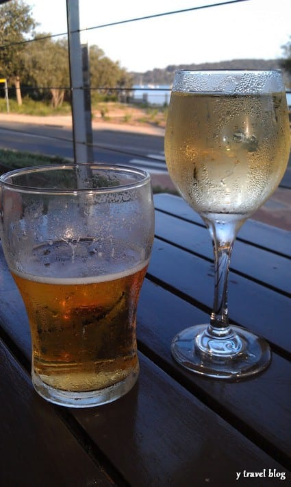 australians love beer and wine