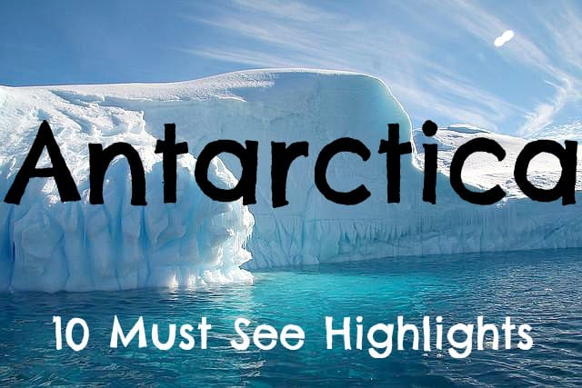 the best of antarctica 10 must see highlights