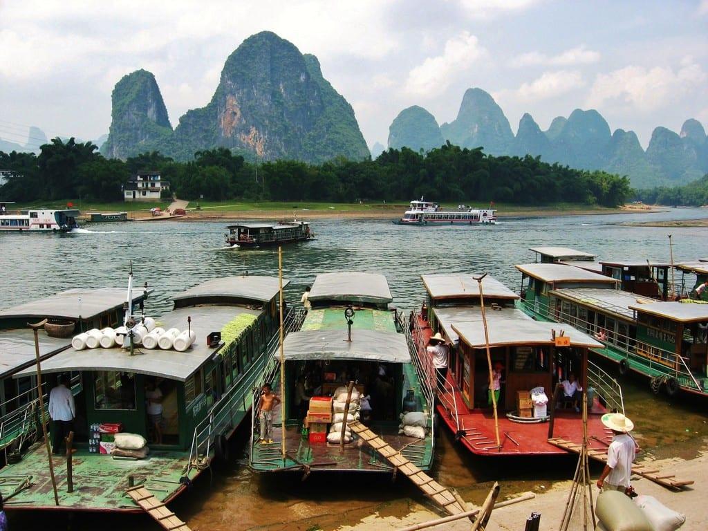 Travel Photo – Li River in China