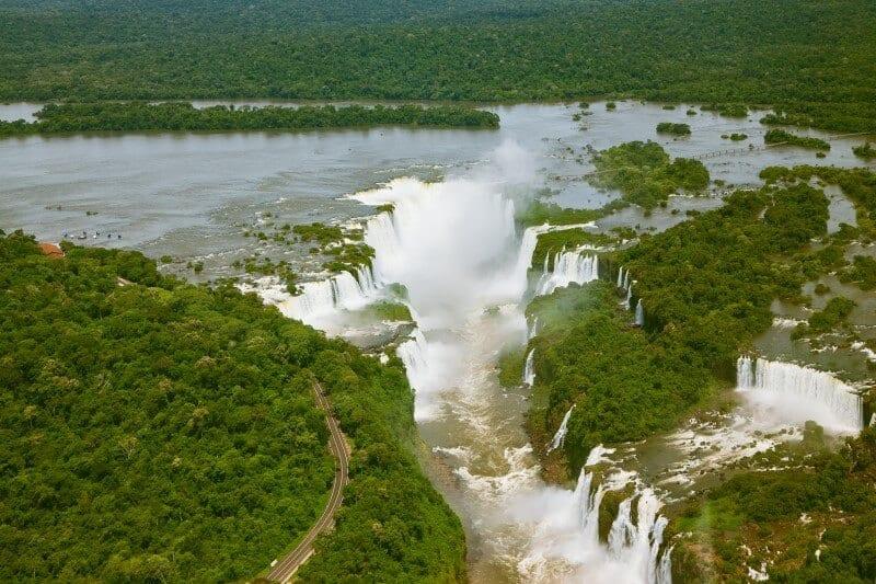 iguazu falls argentina brazil south america (4)