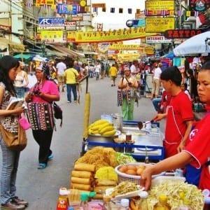 khao san road - bangkok thailand