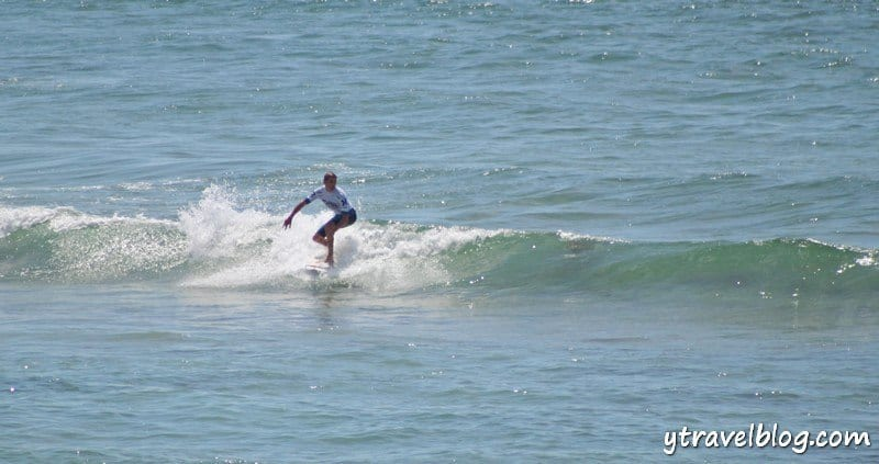 surfing at North Steyne