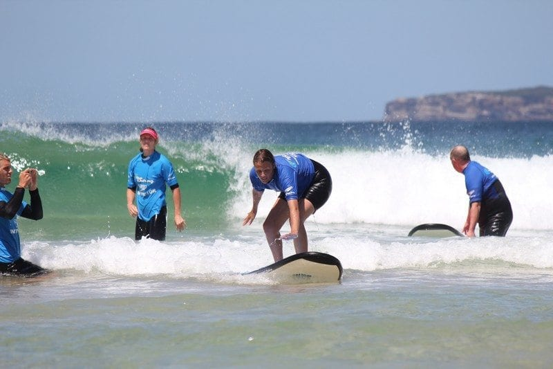 Let's go surfing Bondi