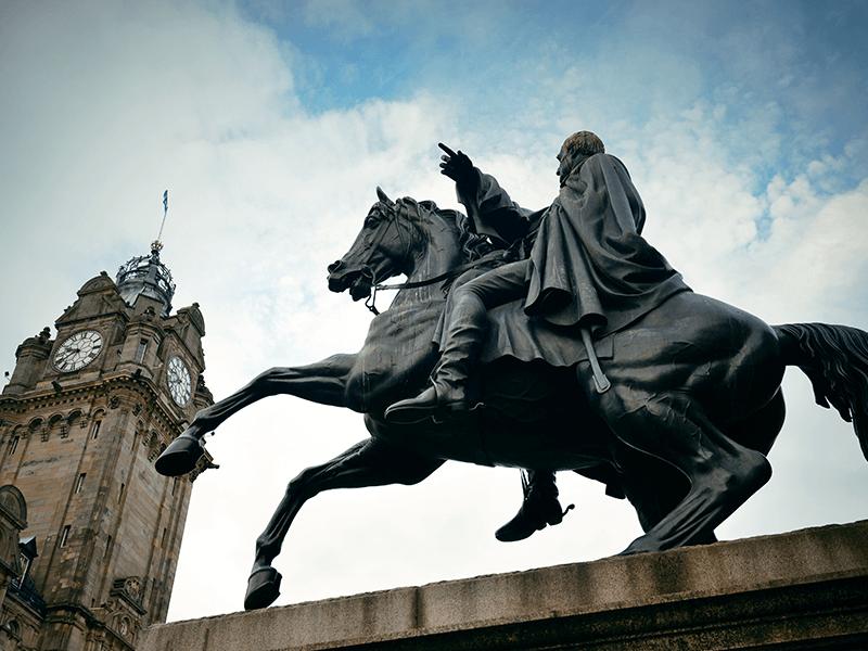 So much history in Edinburgh to explore