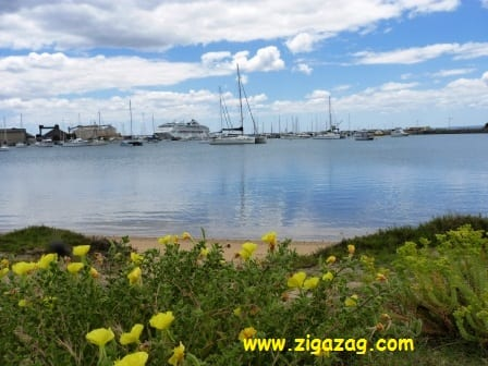 Cruise ships, yachts and beaches in Bunbury