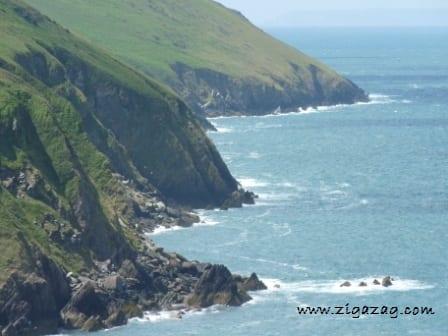 Devon's coastline is stunning