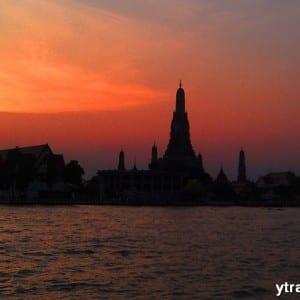 Wat ARun sunset Bangkok