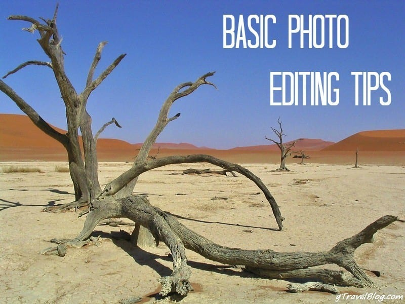 travel photography editing tips
