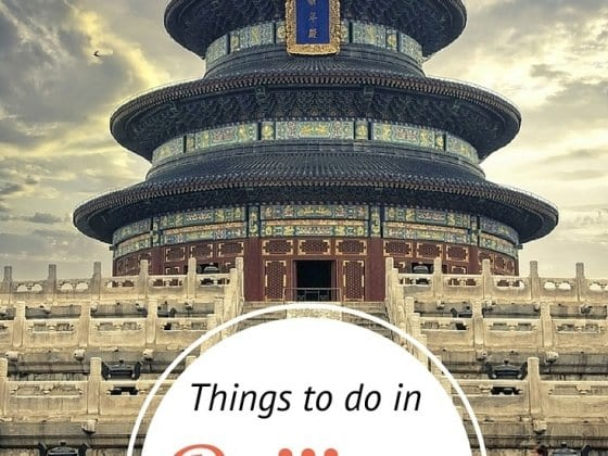 What to Do in Beijing, China