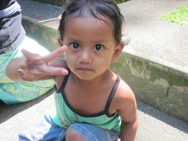 Peace in Bali, Indonesia