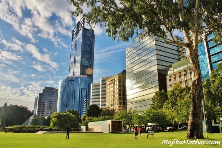 Perth Skyline - 12 Reasons to Visit Perth, Australia