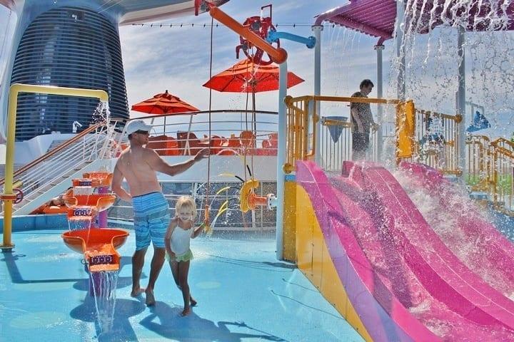 Carnival Spirit Waterslide Carnival Spirit