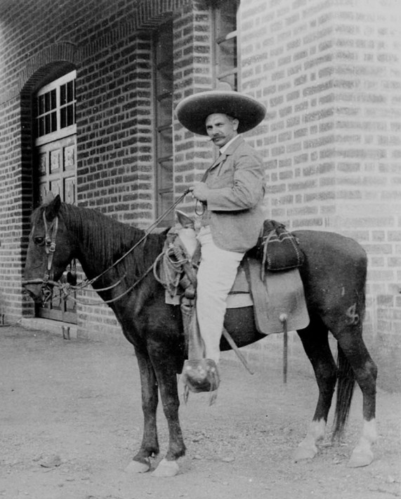 Robin Bayley's great grandfather in Mexico in the early 1900s