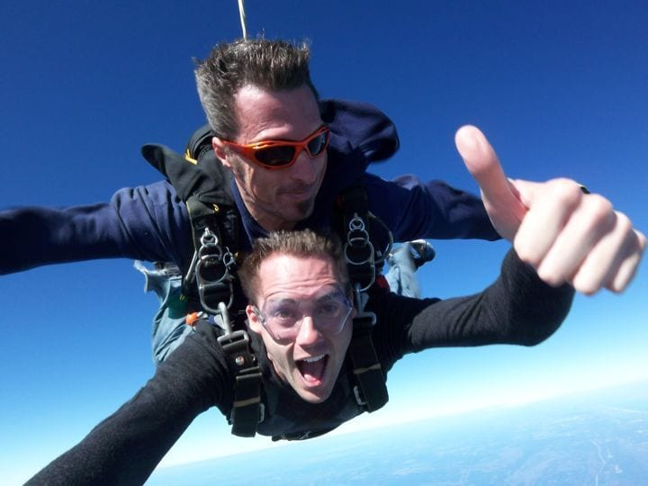 what to do in Orlando - skydiving