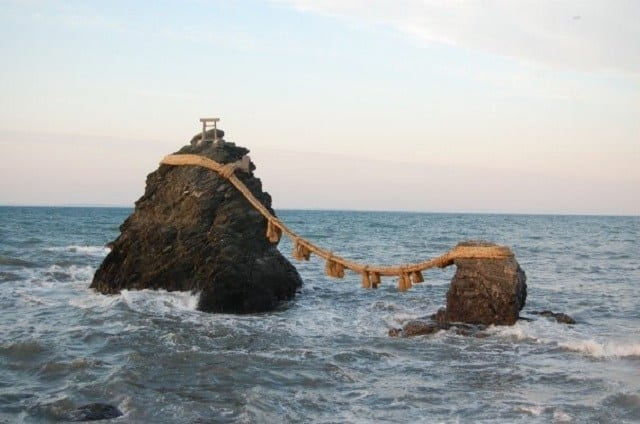 Wedded Rocks in Ise