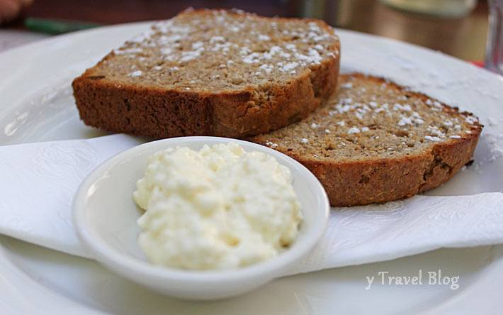 Coconut and Macadamia bread