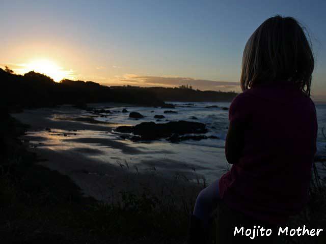 Sunset from Nobbys Beach Port Macquarie
