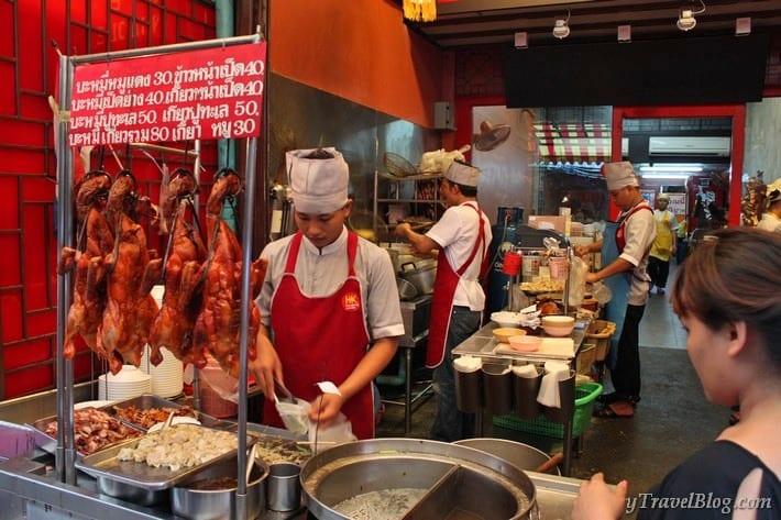 Chinatown food Bangkok