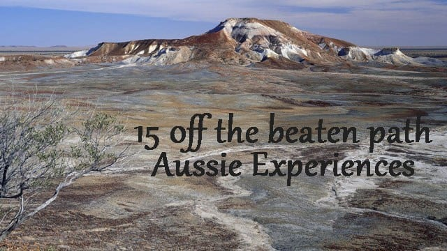 off the beaten path Aussie experiences