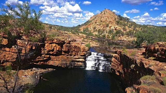 One of the many Gibb River Rd waterfalls Image: Tourism Australia