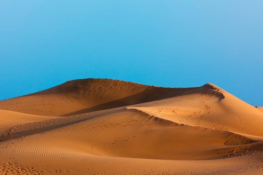 Gran Canaria Maspalomas Sand Dunes