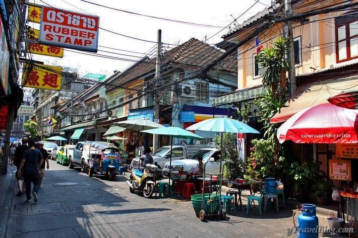 walking tour Chinatown Bangkok