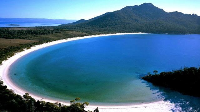 Wineglass Bay, Tasmania, Australia