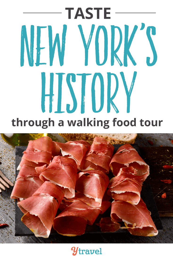 Taste New York's history through a walking food tour