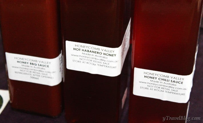 Honeycomb Valley Farm honey products