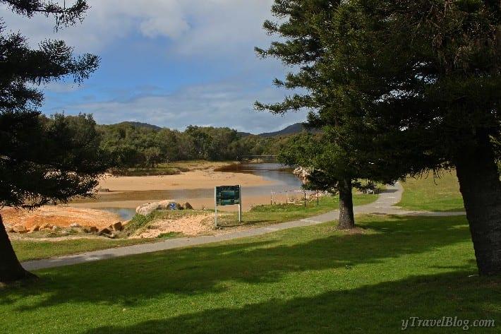south west rocks australia and the big 4 caravan park. Black Bedroom Furniture Sets. Home Design Ideas