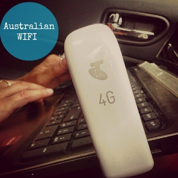 Telstra 4G wireless broadband wifi