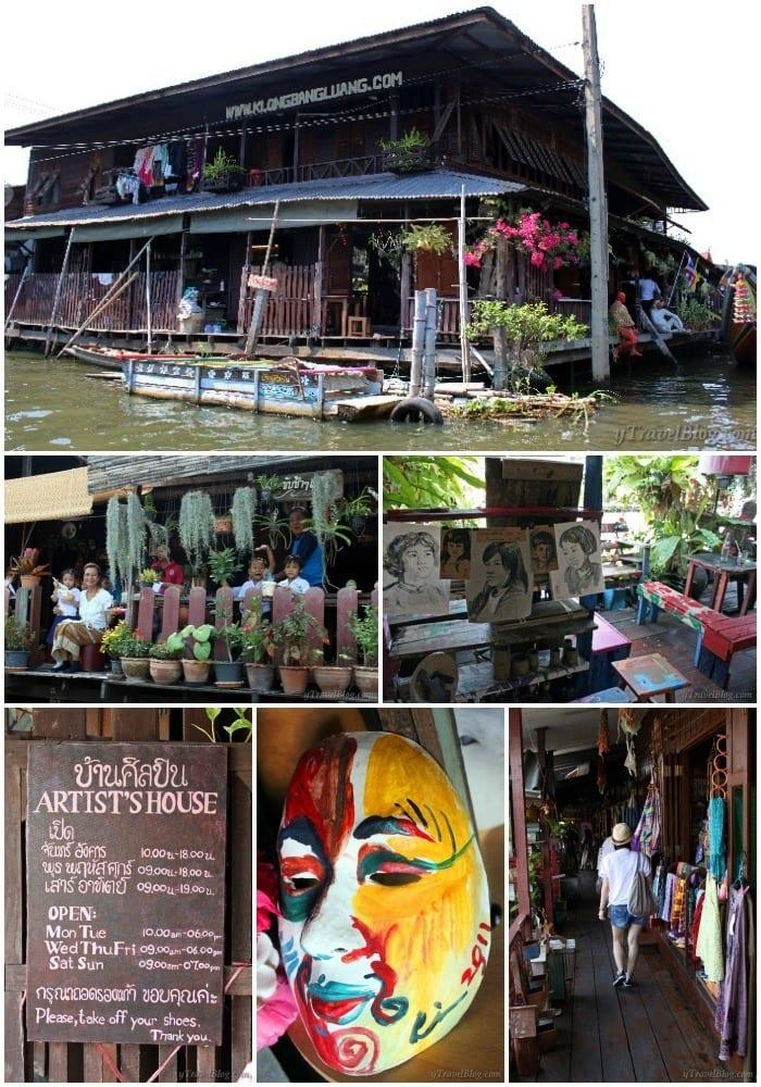Artists House Bangkok klongs