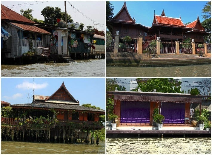 Bangkok klongs homes
