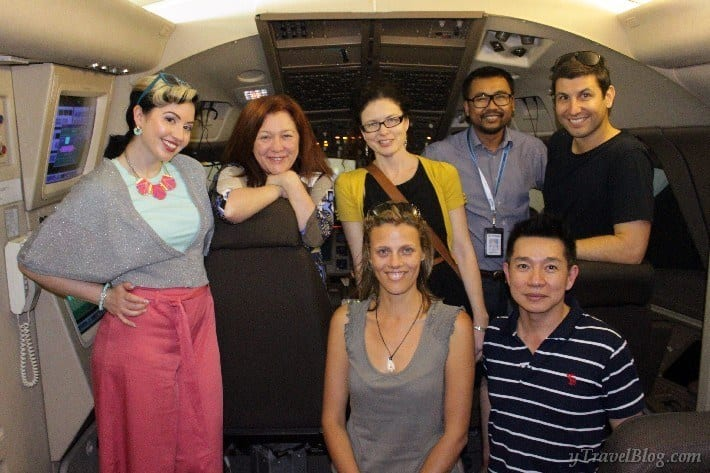 Malaysian airline flight simulator