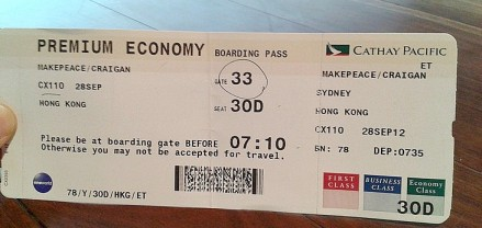 The Cathay Pacific Premium Economy Experience