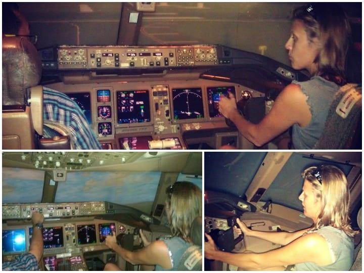 Malaysia airline flight simulator