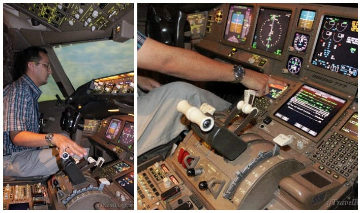 Malaysia airlines flight simulator