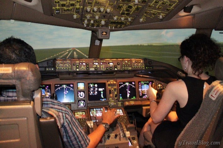 Malaysian airlines flight simulator